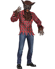 Halloween Costumes FW5409BR Men Werewolf Costume Brown at GotApparel