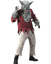 Halloween Costumes FW5409GY Men Grey Werewolf Adult at GotApparel