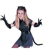 Halloween Costumes FW8130C Women Cat Instant Costume Adult at GotApparel