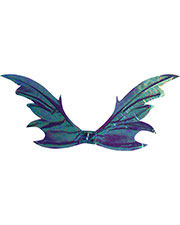 Halloween Costumes FW90460PR Women Wings Fairy Opal Purple at GotApparel
