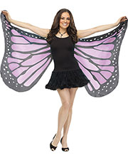 Halloween Costumes FW90563OC  WINGS SOFT BUTTERFLY ADLT ORCH at GotApparel