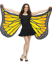 Halloween Costumes FW90563OR  WINGS SOFT BUTTERFLY ADLT ORAN at GotApparel
