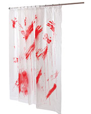 Halloween Costumes FW91031 Unisex Bloddy Shower Curtain at GotApparel