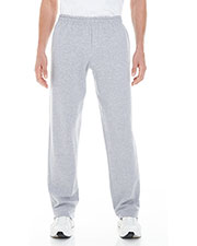 Gildan G183 Men Heavy Blend™ 8 oz. Open-Bottom Sweatpants with Pockets at GotApparel