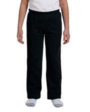 Gildan G184B Boys Heavy Blend 8 Oz. 50/50 Open-Bottom Sweatpants at GotApparel