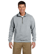 Gildan G188 Adult Heavy Blend 8 oz. Vintage Classic QuarterZip Cadet Collar Sweatshirt at GotApparel