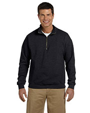 Gildan G188 Adult Heavy Blend 8 Oz. Vintage Classic Quarter-Zip Cadet Collar Sweatshirt at GotApparel