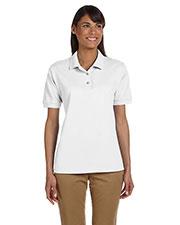 Gildan G380L Women Ultra Cotton  6.5 Oz. Pique Polo at GotApparel