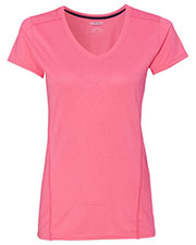 Gildan G47V Women Tech Short-Sleeve V-Neck at GotApparel