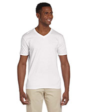 Gildan G64V Men Softstyle 4.5 oz. V-Neck TShirt at GotApparel