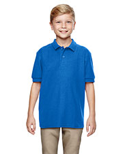 Gildan G728B Boys DryBlend 6.3 oz. Double Pique Sport Shirt at GotApparel