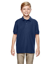 Gildan G728B Boys Dryblend 6.3 Oz. Double Pique Sports Shirt at GotApparel