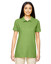 Gildan G828L Women's Premium Cotton™ 6.5 oz. Double Pique Sport Shirt at GotApparel