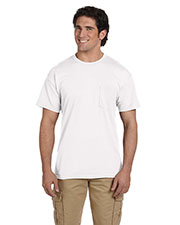 Gildan G830 Men Dryblend  5.6 Oz. 50/50 Pocket T-Shirt at GotApparel