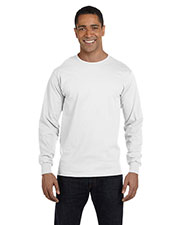 Gildan G840 Men Dryblend 5.6 Oz. 50/50 Long-Sleeve T-Shirt at GotApparel