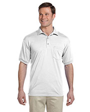 Gildan G890 Men DryBlend 6 oz., 50/50 Jersey Polo with Pocket at GotApparel
