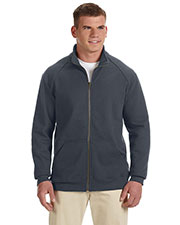Gildan G929 Men Premium Cotton 9 oz. Fleece Full Zip Jacket at GotApparel