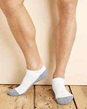 Gildan GP711 Men Platinum No Show Socks  at GotApparel