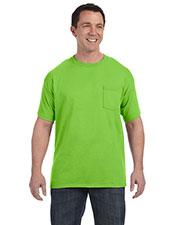 Hanes H5590 Men 6.1 Oz Tagless Pocket T-Shirt at GotApparel