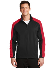 Port Authority J718 Men Active Colorblock Soft Shell Jacket at GotApparel