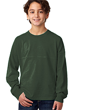 J America J8219  Youth Long Sleeve Game Day Jersey at GotApparel