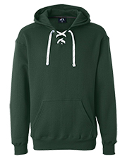 J America J8830 Men Sport Lace Hood Sweatshirt at GotApparel