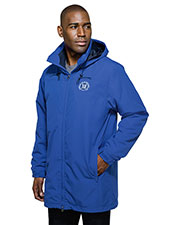 Tri-Mountain J9985 Men Rockland Fleece Jacket 3-In-1 System Hooded Parka at GotApparel