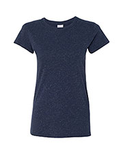 J America JA8138 Women Glitter T-Shirt at GotApparel