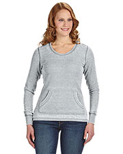 J America JA8255 Women Zen Thermal Long-Sleeve T-Shirt at GotApparel