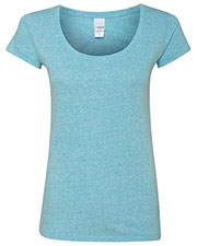 J America Ja8260    Twisted Slub Jersey Scoopneck T-Shirt at GotApparel
