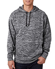 J America J8613 Men Cosmic Hooded Fleece at GotApparel