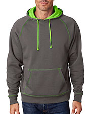 J America J8883 Adult Shadow Hooded Fleece at GotApparel