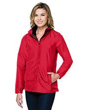 Tri-Mountain JL8885 Women Hallowell 3-In-1 shell Jacket at GotApparel