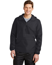 Sport-Tek JST65  ®  Zipped Pocket Anorak. at GotApparel