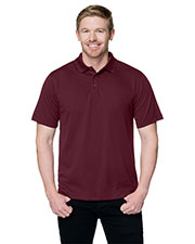 TRI-MOUNTAIN PERFORMANCE K020 Men Vital Knit Short Sleeve Golf Shirt at GotApparel