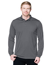 Tri-Mountain K020LS Men Performance Vital Polo Shirt at GotApparel