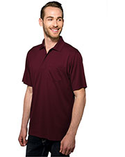TM Performance K020P Men Vital Pocket Knite Golf Shirt at GotApparel