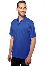 TM Performance K020P Men Vital Pocket Knite Golf Shirt at GotApparel