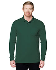 Tri-Mountain K020PLS Men Performance Vital Pocket Polo Shirt at GotApparel