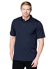 Tri-Mountain K022 Men's Vital Snap Short-Sleeve Polo Shirt at GotApparel
