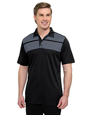 Tri-Mountain K025  's 5 Oz. 100% Polyester Mini-Pique Polo Featuring Ultracool  Moisture-Wicking Technology. at GotApparel