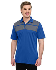 Tri-Mountain K025 Men 5 Oz 100% polyester mini-pique polo at GotApparel