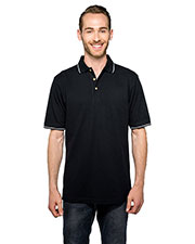 Tri-Mountain K097 Men Trace Short Sleeve Golf Shirt at GotApparel