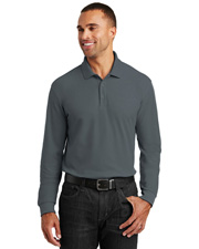 Port Authority K100LS  ® Long Sleeve Core Classic Pique Polo. . at GotApparel