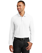 Port Authority K100LS Men Long-Sleeve Core Classic Pique Polo at GotApparel