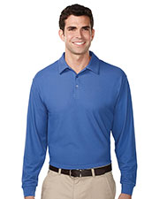 TRI-MOUNTAIN PERFORMANCE K107LS Men Endurance Long Sleeve Golf Shirt at GotApparel