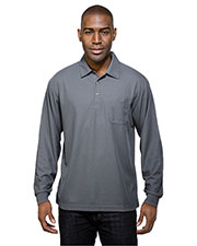 TM Performance K107PLS Men Endurance Pocket Knit Golf Shirt at GotApparel