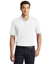 Port Authority K110P Men Zone UV Micro-Mesh Pocket Polo at GotApparel
