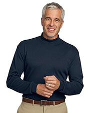 Port Authority K321 Men Interlock Knit Mock-Turtleneck at GotApparel