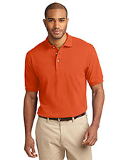 Port Authority K420 Men's Heavyweight Cotton Pique Polo at GotApparel
